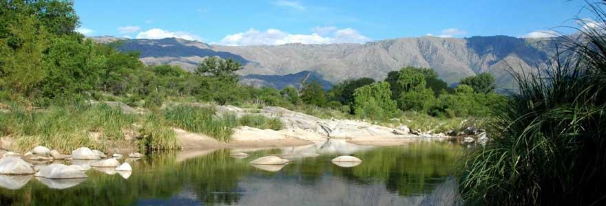 Argentine préservant la nature