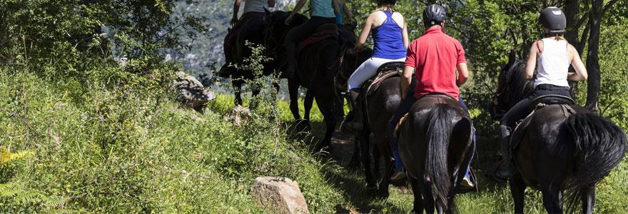 Randonnées équestres et treks à cheval